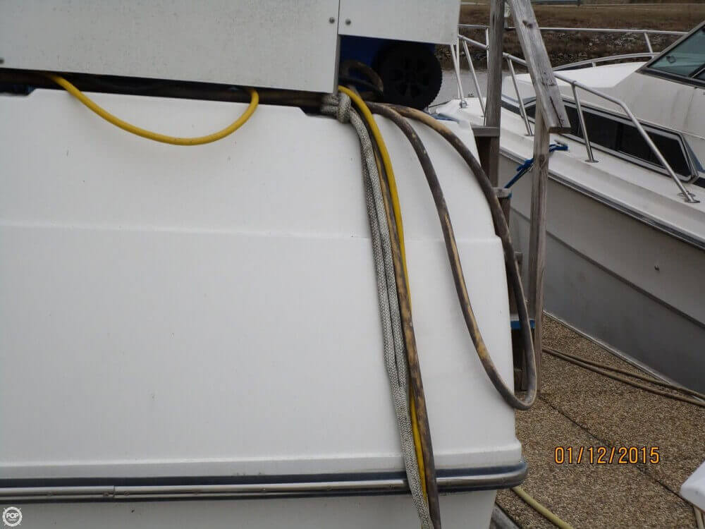 1883261L?2 carver 3807 aft cabin for sale in eufaula, al for $39,995 pop yachts Electrical Box Wiring Diagram at creativeand.co