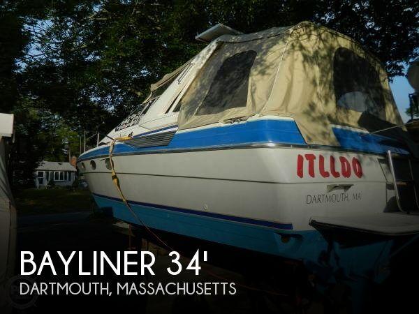 1988 Bayliner 3450 Avanti Sunbridge - Photo #1