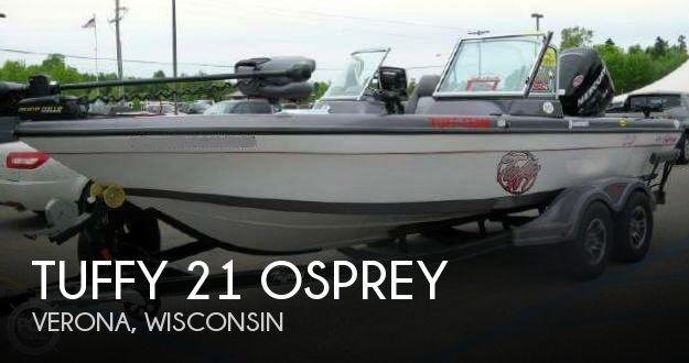 For sale used 2012 tuffy 21 osprey in verona wisconsin for Used outboard motors for sale wisconsin