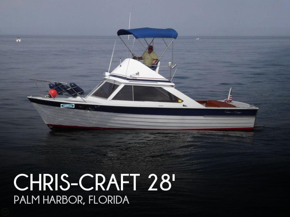 1966 Chris-Craft 28 Sea Skiff - Photo #1