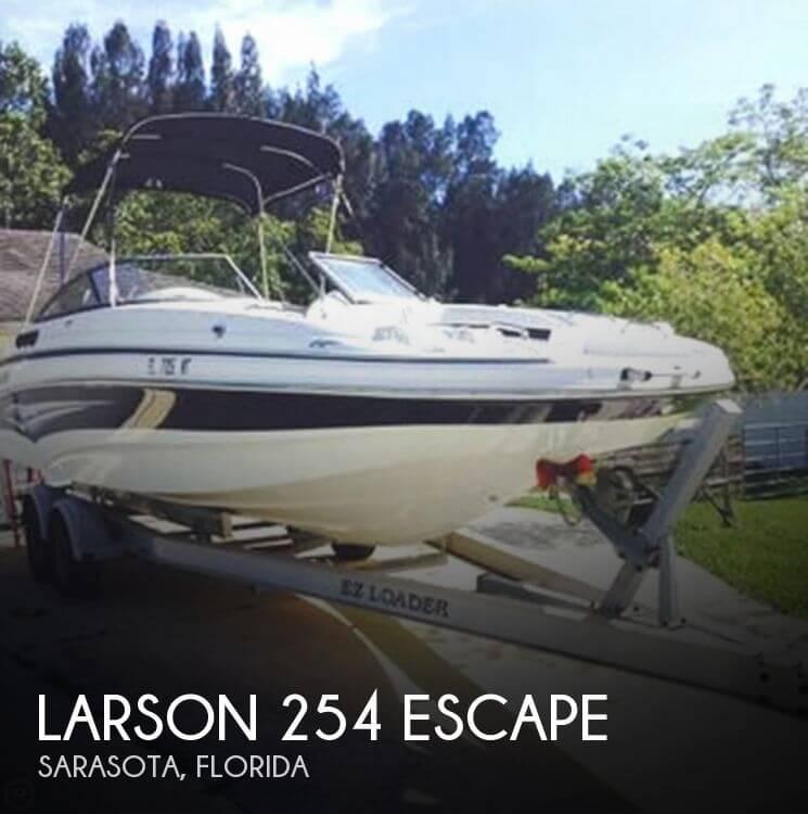 2008 Larson 254 Escape - Photo #1