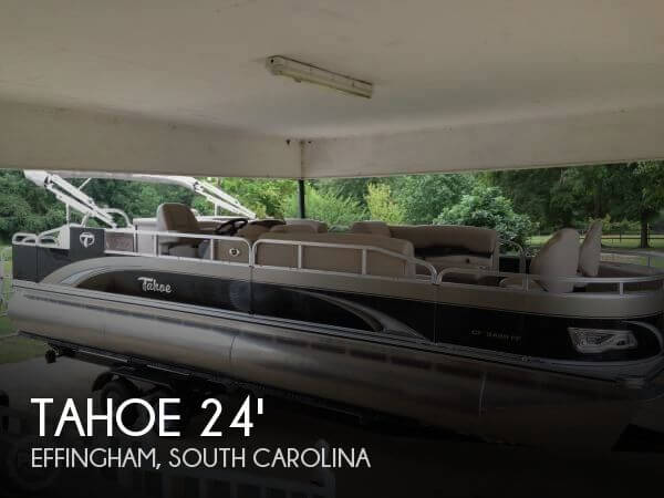 2014 TAHOE 24 FISH CRUISE for sale