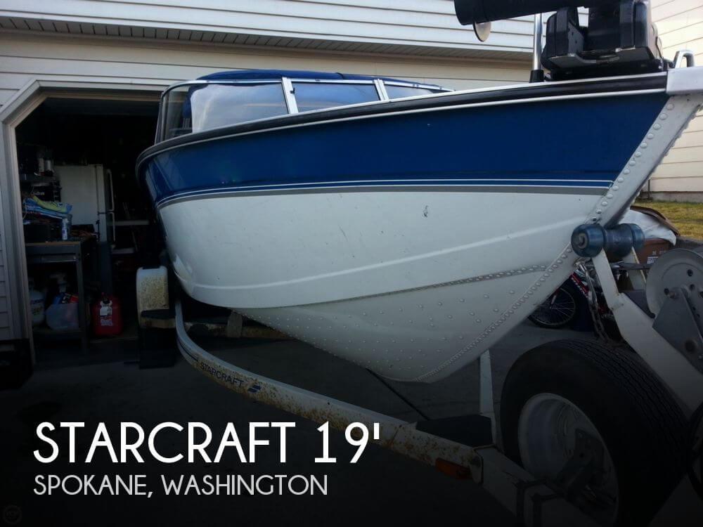 Used 1996 Starcraft Superfisherman 190 Spokane Washington