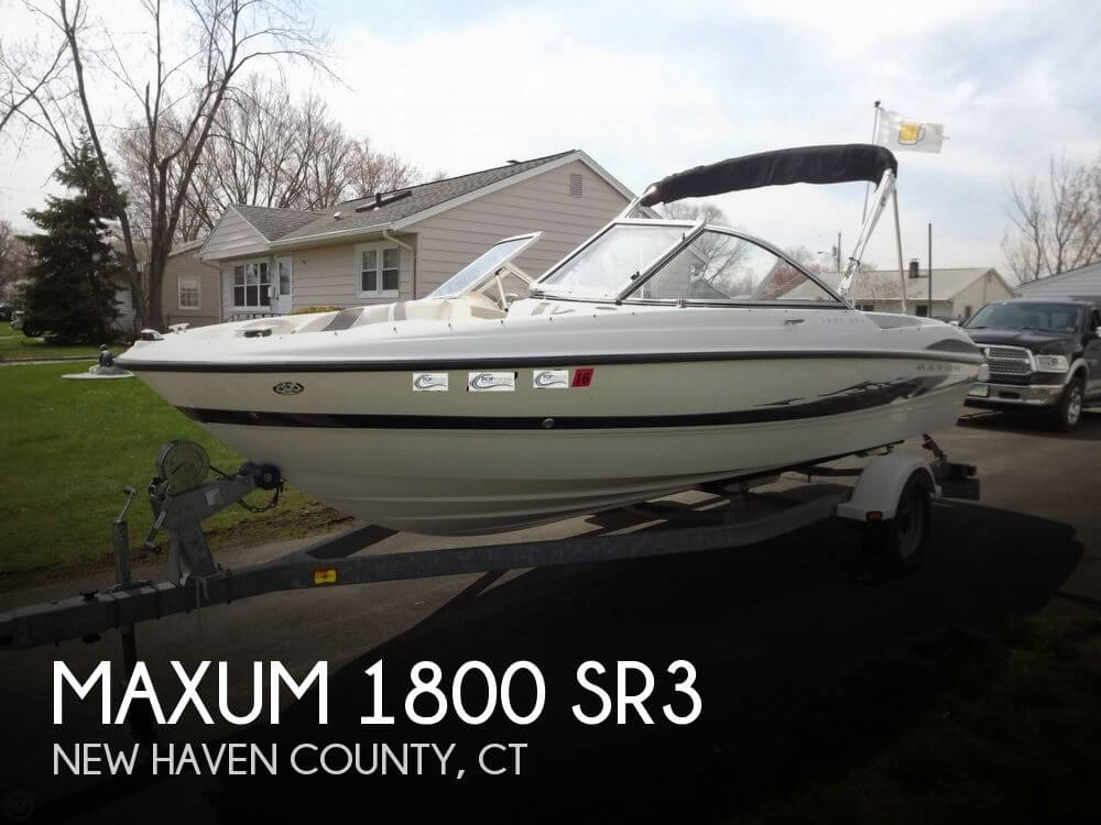 2005 Maxum 1800 SR3 - Photo #1