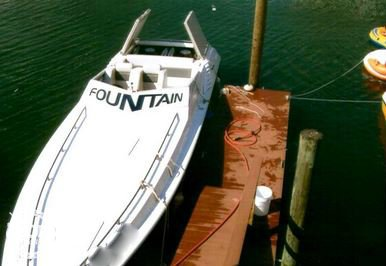 1986 Fountain boat for sale, model of the boat is 33 (10M) Executioner & Image # 2 of 42