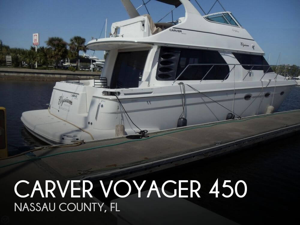 2000 Carver Voyager 450 - Photo #1