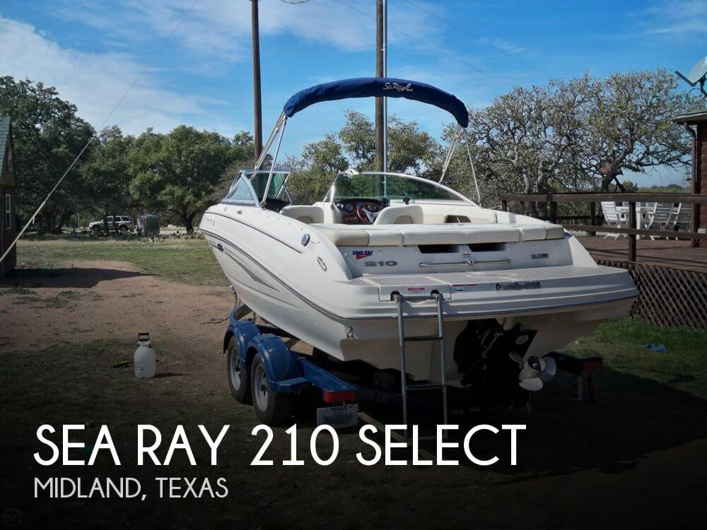 2009 Sea Ray 210 Select - Photo #1