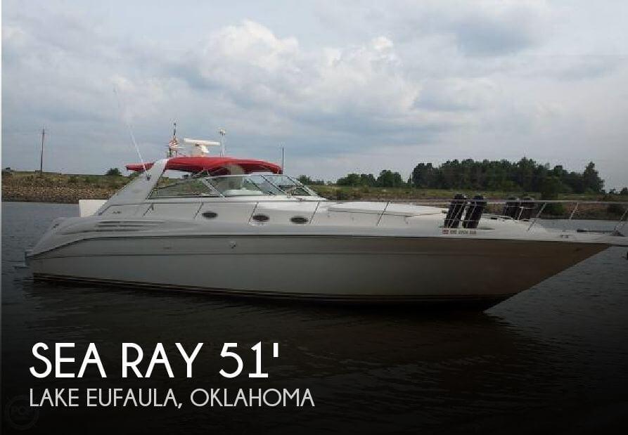 1996 Sea Ray 450 Sundancer - Photo #1