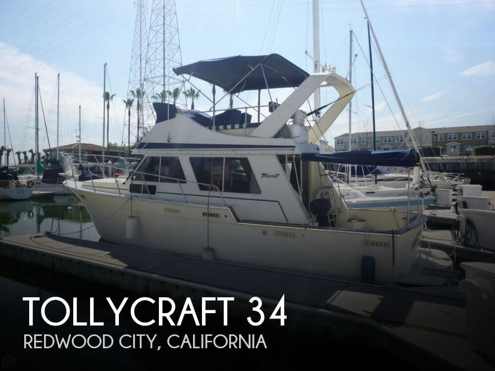 1986 Tollycraft 34 - Photo #1