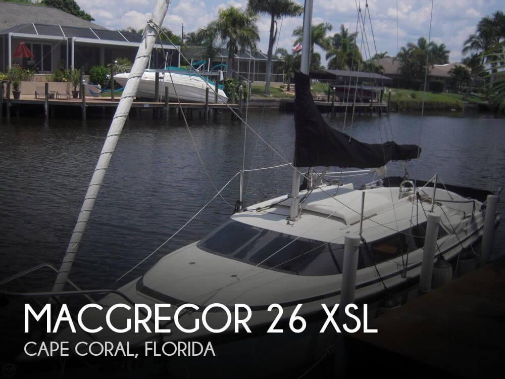 2002 MacGregor 26 XSL - Photo #1