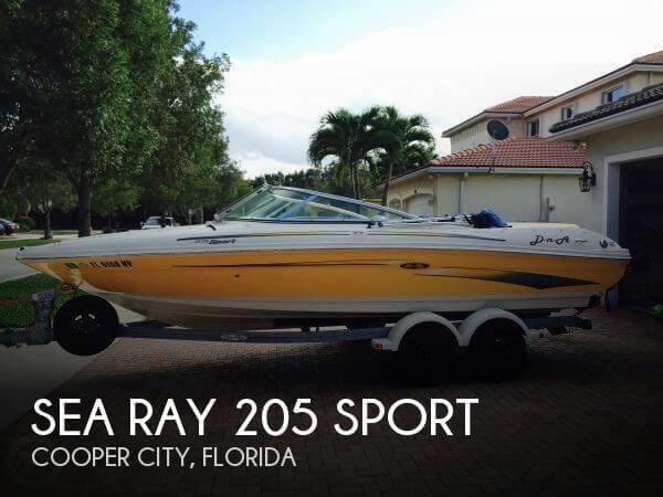 2007 Sea Ray 205 Sport - Photo #1