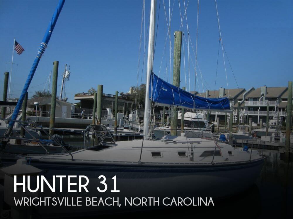 1984 Hunter 31 - Photo #1