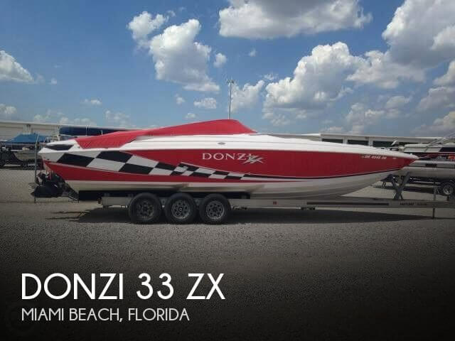Used DONZI Boats For Sale by owner | 1999 Donzi 32
