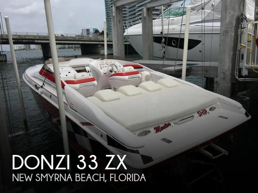 Used 1999 Donzi 33 Zx For Sale