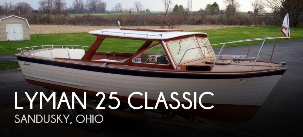 1963 Lyman 25 Classic - Photo #1