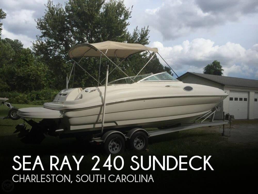 2001 Sea Ray 240 Sundeck - Photo #1