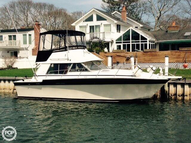 1986 silverton 34 fishing boat for sale in hampton bays ny for Fishing boats for sale in ny