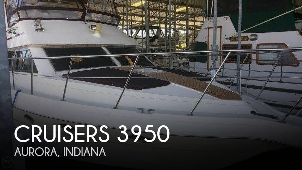 Used Boats For Sale in Cincinnati, Ohio by owner | 1995 Cruisers Yachts 37