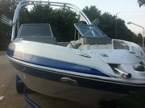 Glastron 215 GLS, 21', for sale - $32,300