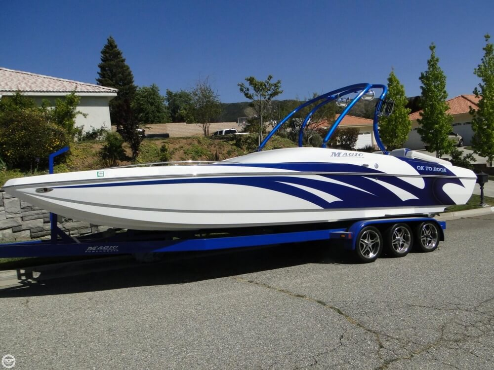 2009 Magic boat for sale, model of the boat is 28 Scepter Open Bow & Image # 2 of 40