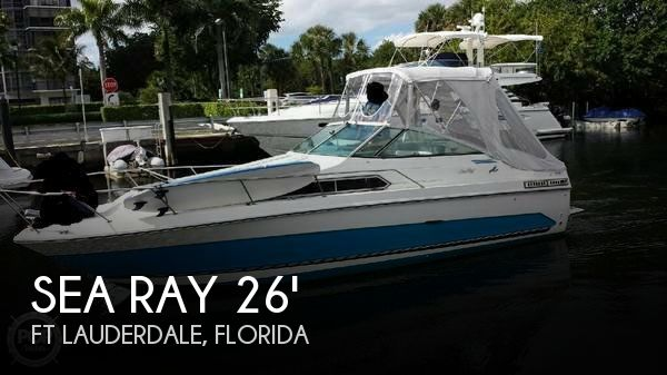 1986 Sea Ray 268 Sundancer - Photo #1