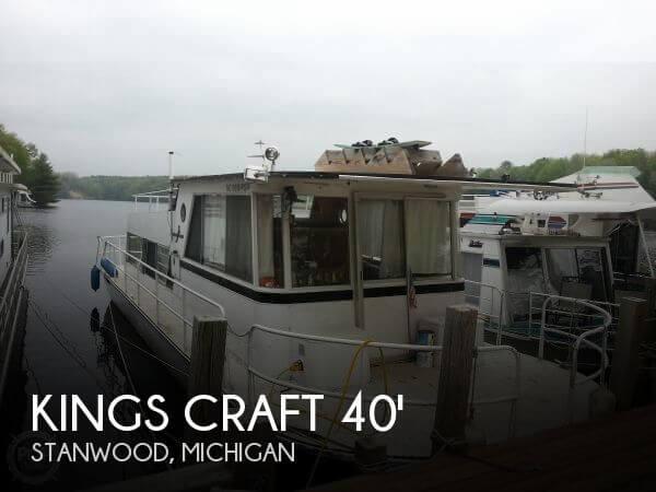 1974 Kings Craft 40 Houseboat - Photo #1