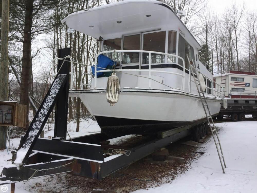 1974 Kings Craft 40 Houseboat - Photo #9