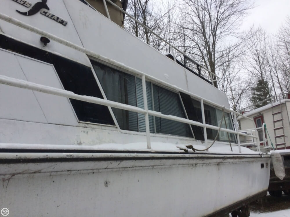 1974 Kings Craft 40 Houseboat - Photo #19