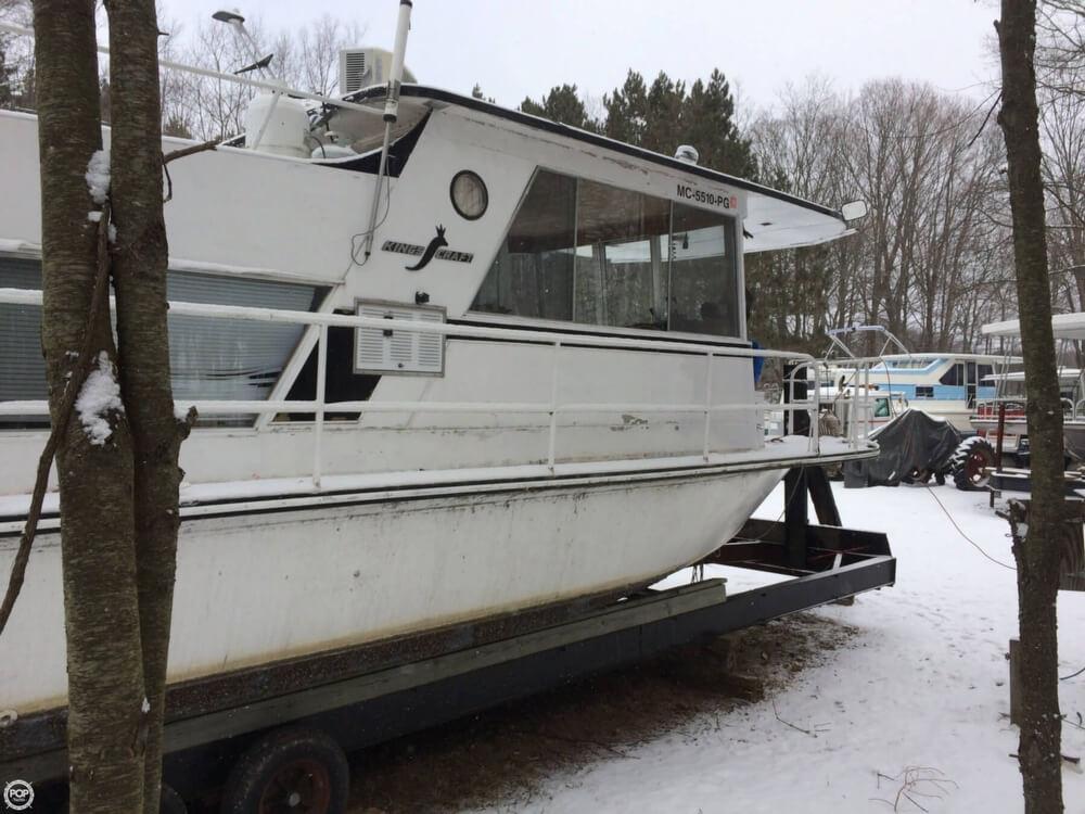1974 Kings Craft 40 Houseboat - Photo #39