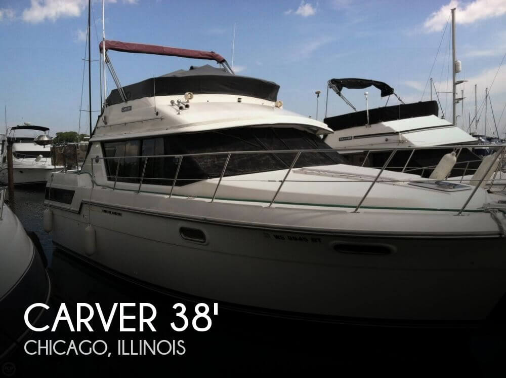 Canceled carver 3807 aft cabin boat in chicago il 074112 for Carver aft cabin motor yacht