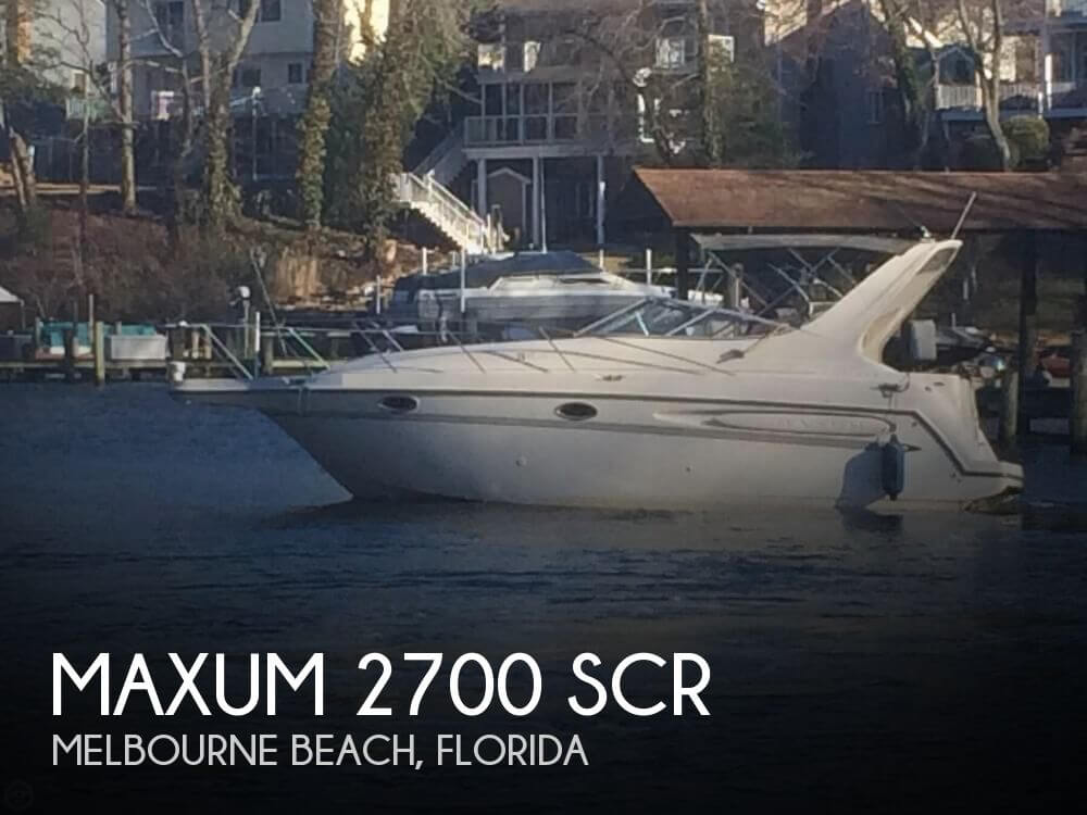1997 Maxum 2700 SCR - Photo #1