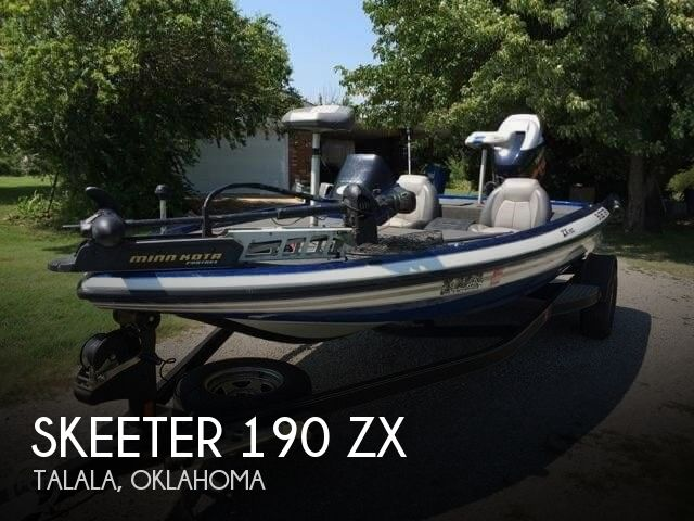 2012 Skeeter boat for sale, model of the boat is 190 ZX & Image # 1 of 28