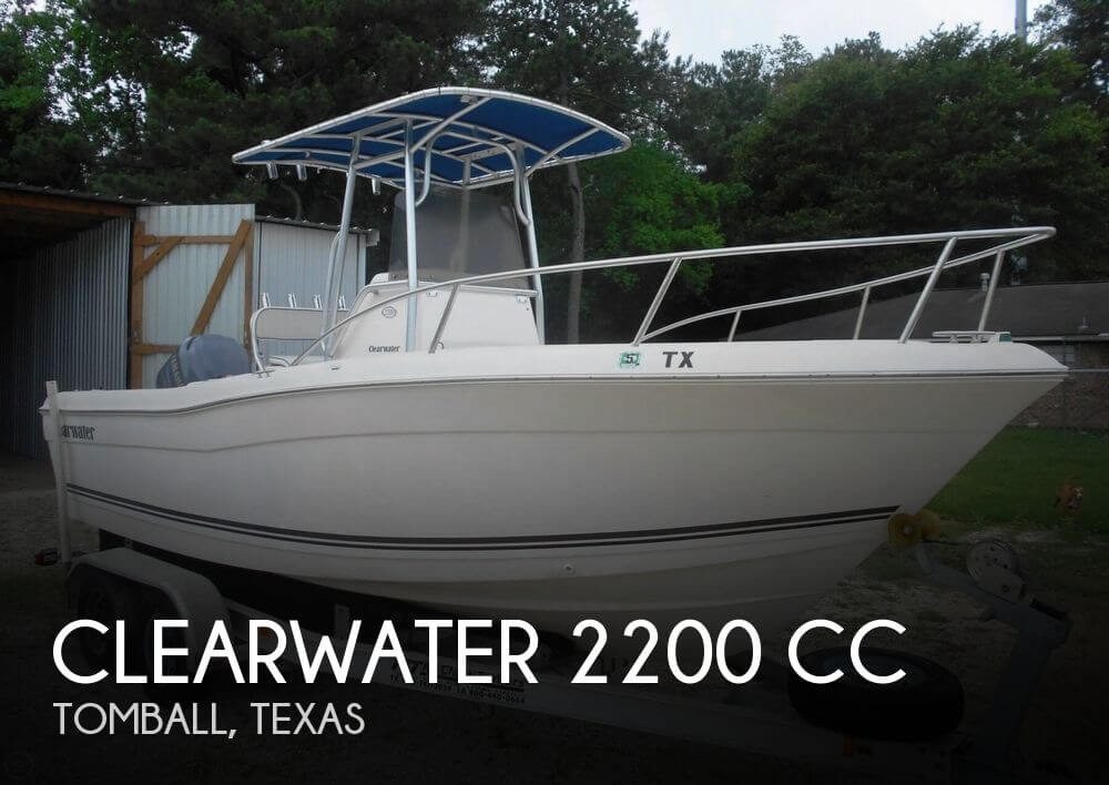 Canceled clearwater 2200 cc boat in tomball tx 074373 for Center console fishing boats for sale