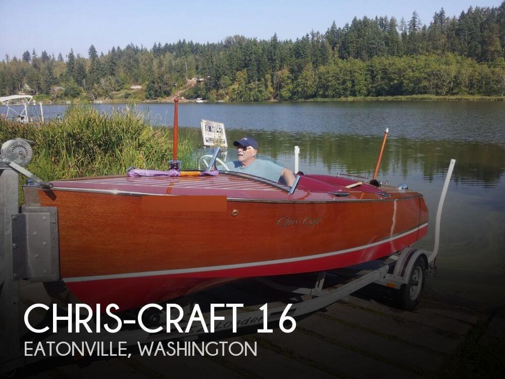1941 Chris-Craft 16 - Photo #1