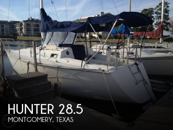 1986 Hunter 28 5 For Sale
