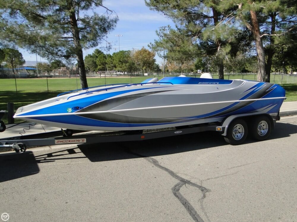 2009 Shockwave 22 Deck Boat - Photo #25