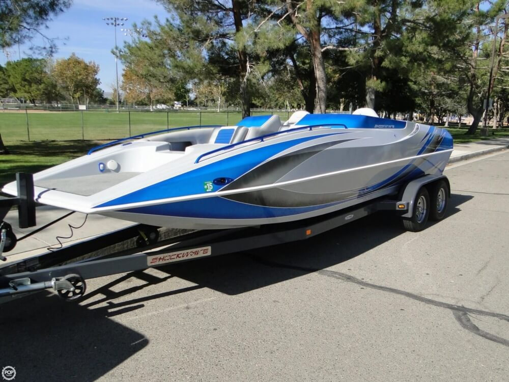 2009 Shockwave 22 Deck Boat - Photo #26