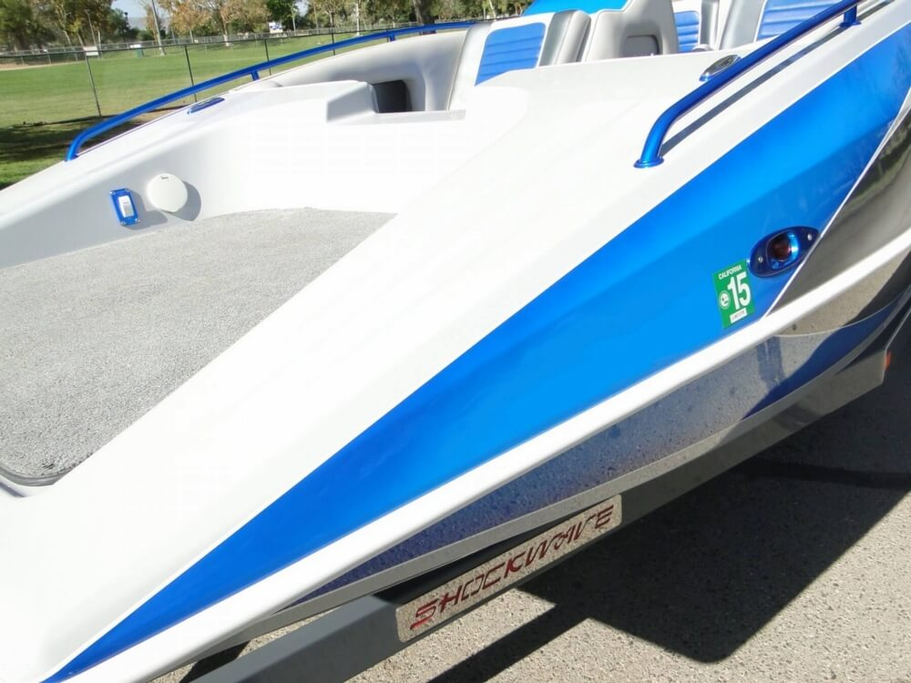 2009 Shockwave 22 Deck Boat - Photo #31