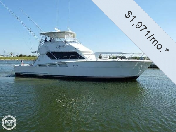 1995 Hatteras 54 Convertible - Photo #2
