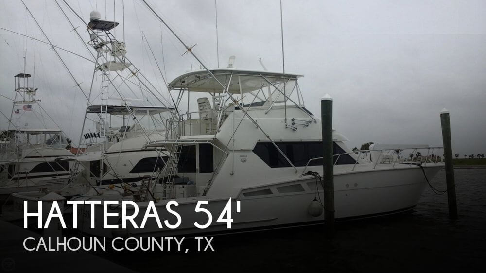 1995 Hatteras 54 Convertible - Photo #1
