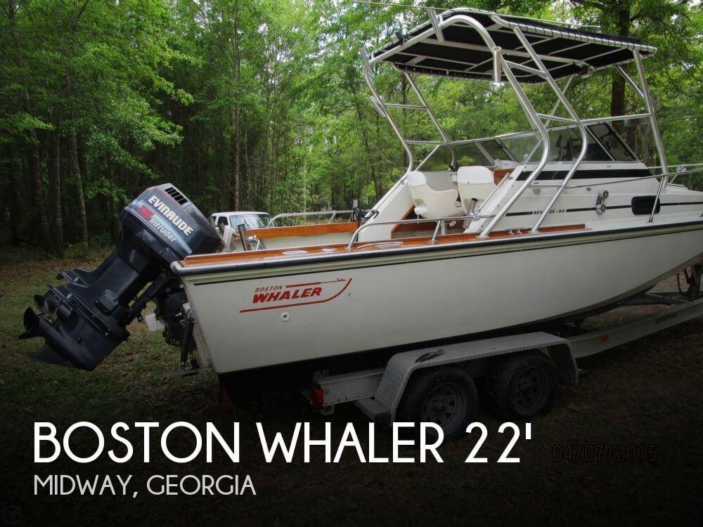 1984 Boston Whaler 22 Revenge - Photo #1