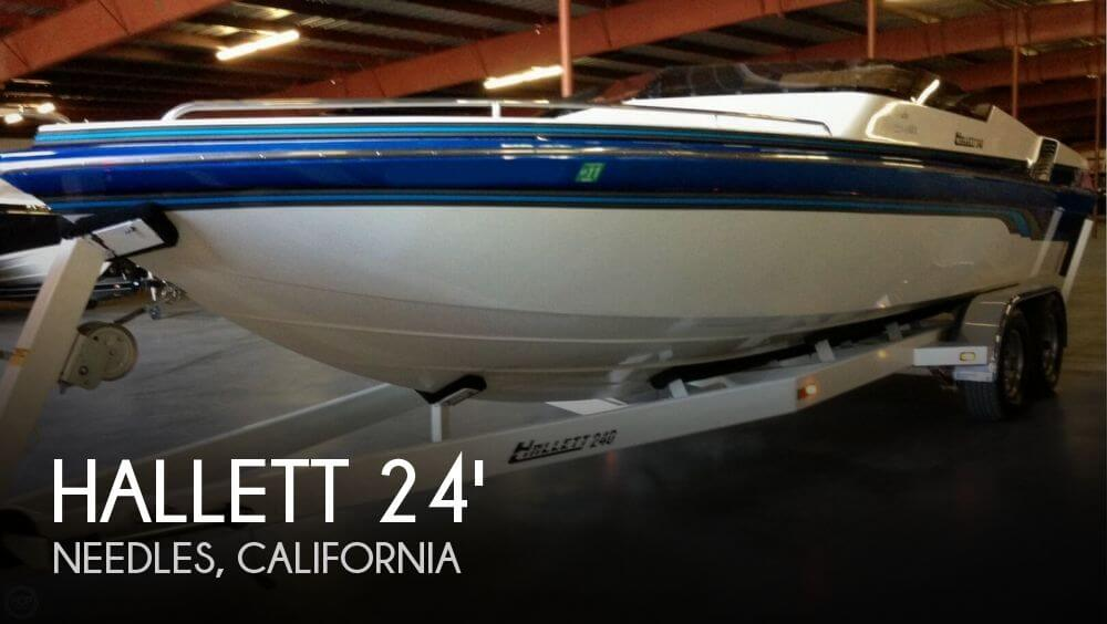 1998 Hallett boat for sale, model of the boat is 240 Closed Bow & Image # 1 of 15