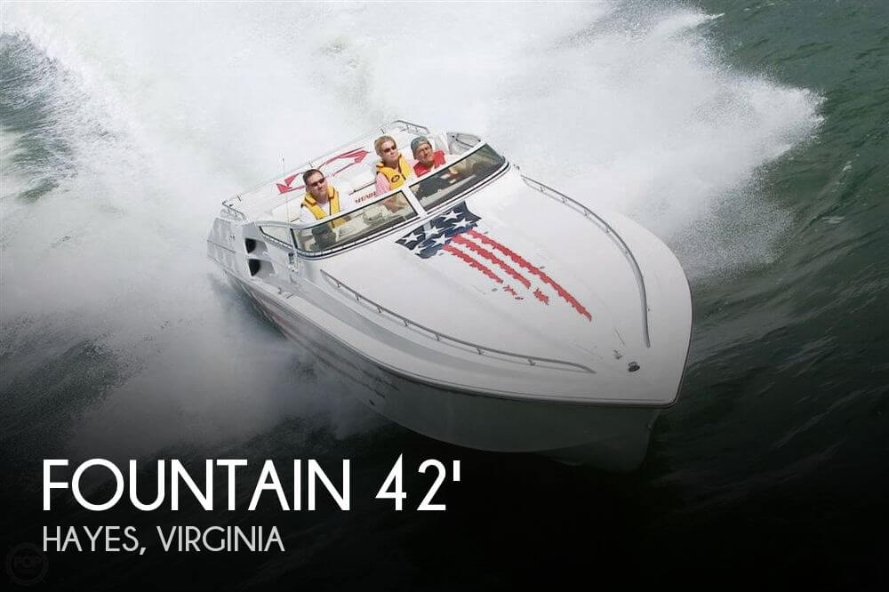 2003 Fountain 42 Lightning