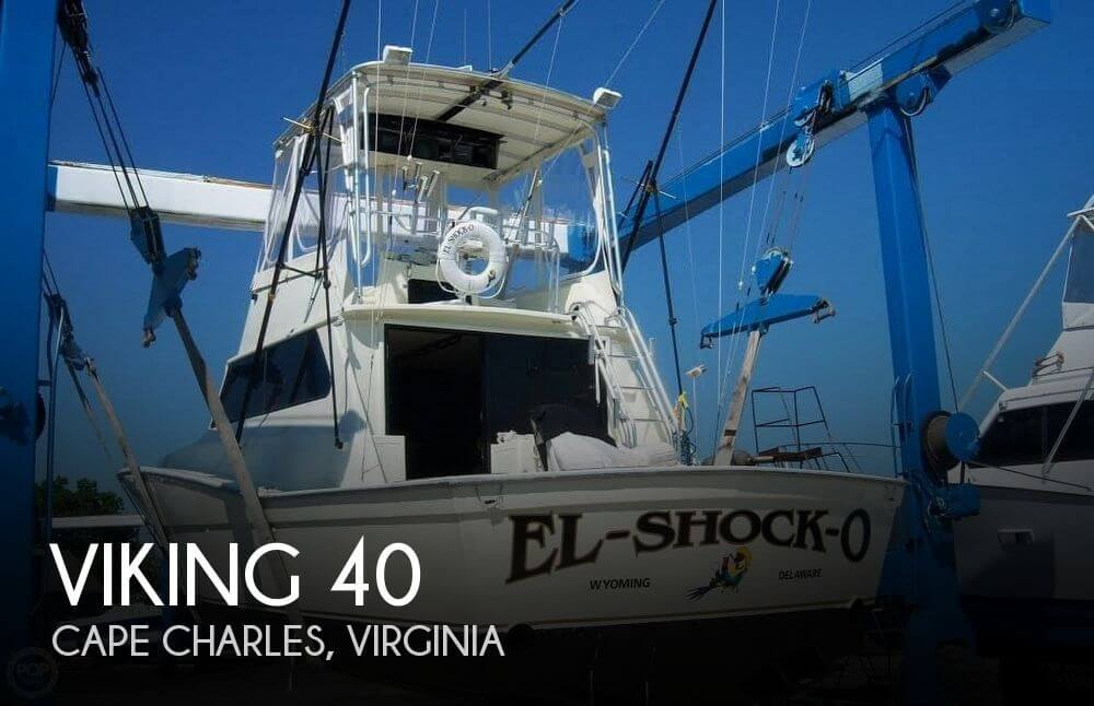 1982 VIKING 40 for sale