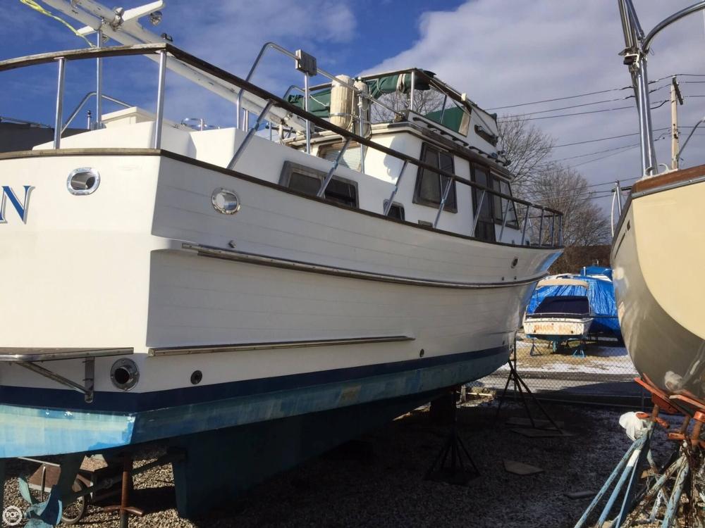 1986 Monk 36 Trawler - Photo #3