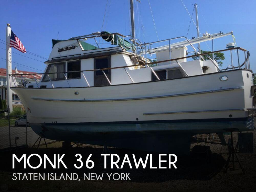 1986 MONK 36 TRAWLER for sale