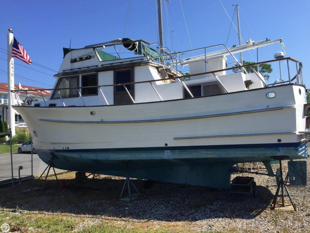 1986 Monk 36 Trawler - Photo #7