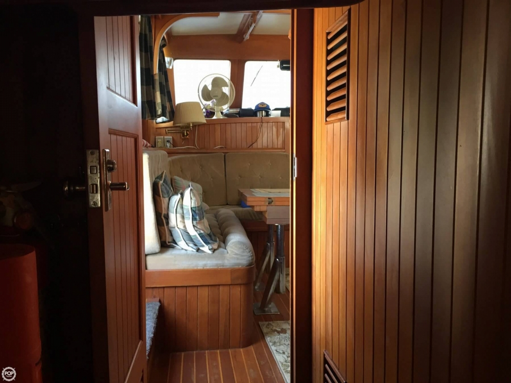 1986 Monk 36 Trawler - Photo #31