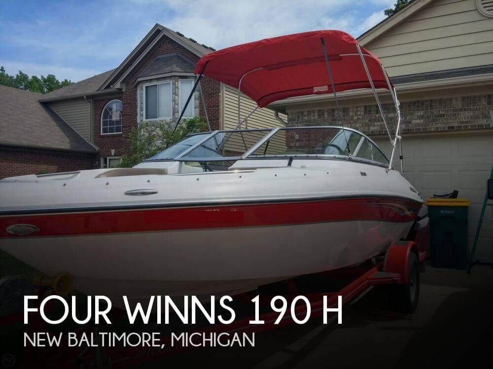2008 Four Winns 190 H - Photo #1