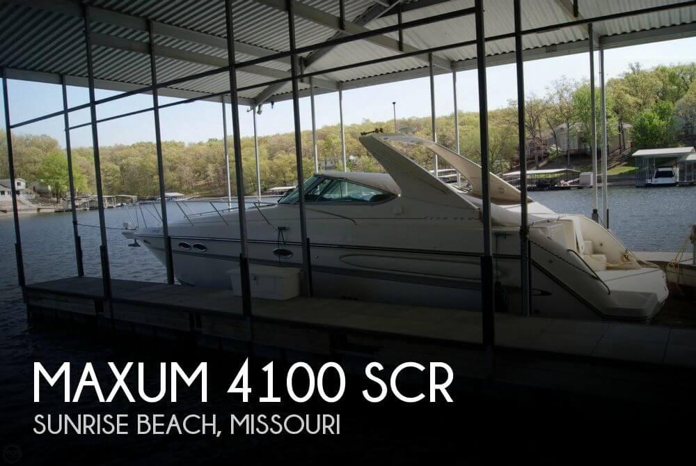 1998 Maxum 4100 SCR